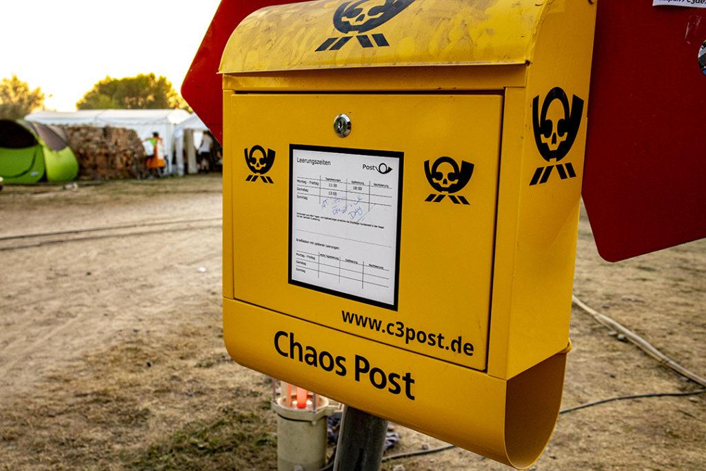 Briefkasten der Chaos Post