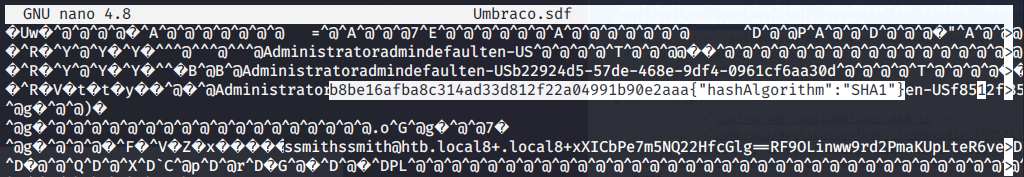 HTB_remote_UmbracoDB